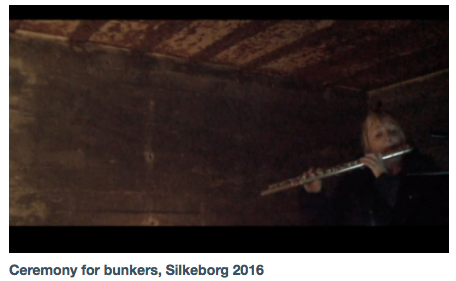 Vimeo - Ceremony for bunkers, Silkeborg 2016