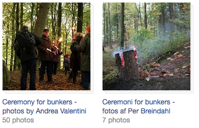 Ceremoni for bunkers - Ceremony for bunkers. Photos by Andrea Valentini and Per Breindahl